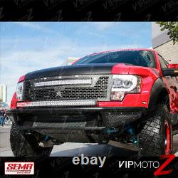 09-14 Ford F150 RAPTOR STYLE LED Neon Tube DRL Chrome Projector Headlight Lamp