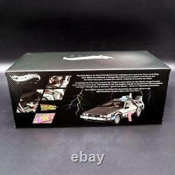 118 Elite Hot Wheels BCJ97 Back To The Future Time Machine Diecast Edition Gift