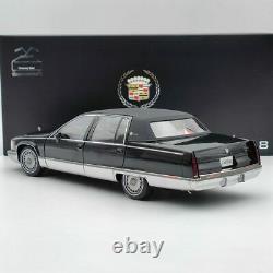 118 GM 1993 Cadillac Fleetwood Sedan Black Diecast Model Car Edition Collection
