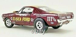 1965 Ford Mustang A/FX Tasca Ford NEW TOOLING 118 Diecast ACME PRE-ORDER LE MIB