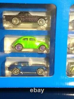 1995 Hot Wheels JC Penny Treasure Hunt Factory Set'67 Camaro VW Bug Corvette
