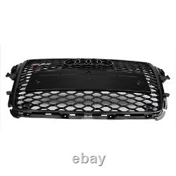 2008-2012 Audi A5-rs5 All Black Front Grille Limited Edition! Rs5 Style Grille