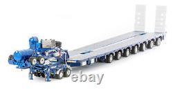 AUSTRALIAN Heavy Haulage Drake 7x8 Steerable & Dolly Blue Metallic ZT09076 150