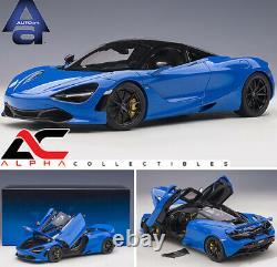 AUTOART 76073 118 McLAREN 720S (PARIS BLUE/METALLIC BLUE) SUPERCAR