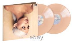 Ariana Grande Sweetener Exclusive Limited Edition Peach Opaque 2x Vinyl LP NM