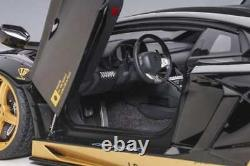 Autoart 79184 118 Lamborghini Aventador Liberty Walk Lb-works Black