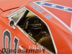 Autoworld 118 1969 Dodge Charger Dukes Of Hazzard General Lee New Orange Amm964