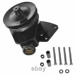 BORGESON Power Steering Pump with Bracket Upgrade for Ford Lincoln Mercury