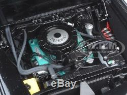 Black Beauty Green Hornet Black Tv Series 1/18 Diecast Model By Autoart 71546