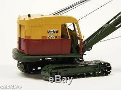 Bucyrus Erie 22B Dragline, Crane, Clam 1/50 EMD #T003 Metal Tracks