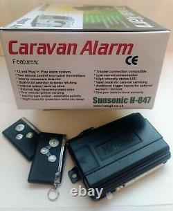 Caravan Alarm Security System Model H-847 by Haegil Ltd for Caravans Motorhomes