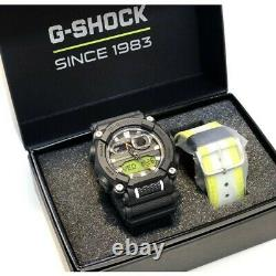 Casio G-Shock GA900E-1A3 Yellow Mens Watch Limited Edition Box Set
