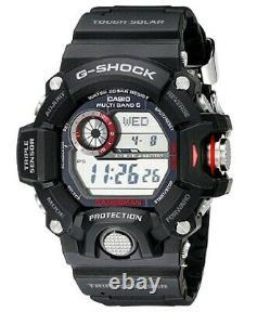 Casio G-Shock GW9400-1 Rangeman Military Black Triple Sensor Atomic Watch 2021