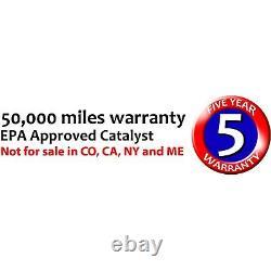 Catalytic Converter for Subaru 99-05 Forester 00-05 Outback Legacy 02-05 Impreza