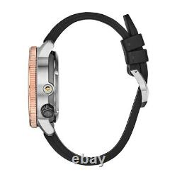 Citizen Promaster Aqualand Men's Black Polyurethane Band Black Quartz Dial Watch