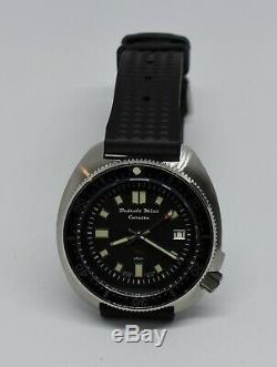 Detroit Mint Caretta Turtle Dive Watch 6105 Captain Willard Automatic Seiko NH35