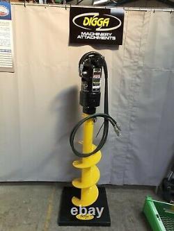 Digga Pdx2 Auger Drive Unit Micro Digger Small Skid Steer Robert Lee Plant Ltd