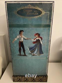 Disney Designer Fairytale Couple Ariel And Eric Doll Set Limited Edition