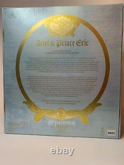 Disney Limited Edition Ariel & Prince Eric Wedding Platinum Doll Set (NIB)
