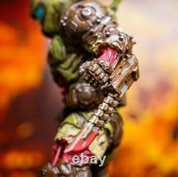 Doom Eternal Zombie Doom Slayer Statue 8 Limited Edition Polyresin Figure