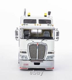 Drake Z01543 AUSTRALIAN KENWORTH K200 PRIME MOVER TRUCK 2.3 WHITE BLACK 150