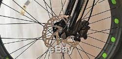 Fatbike Big Foot 26 Mega Fahrrad Aluminium, 21 Shimano, Hydraulisch Disc Brake