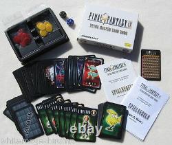 Final Fantasy IX 9 Tetra Master Card Game Squaresoft Limited Edition 2000 7 NEW