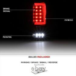 For 04-08 Ford F150 Lobo Neon Tube Running Lamp FULL LED Signal Tail Light BLACK