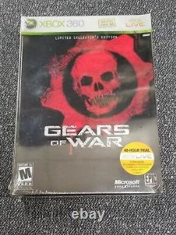 Gears of War Limited Collector's Edition for Microsoft Xbox 360 NEW & SEALED