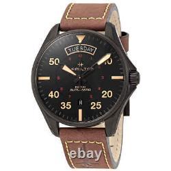 Hamilton Khaki Pilot Automatic Black Dial Men's Watch H64605531