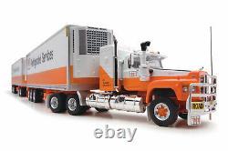 Highway Replicas 12016 Mack Valueliner V8 Truck Road Train Freight TNT 164