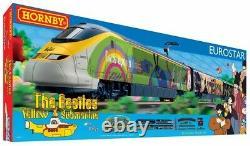 Hornby R1253 Eurostar e300 Beatles Yellow Submarine Complete Starter Train Set