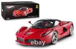 Hot Wheels Elite Ferrari LaFerrari 2013 Red BCT79 1/18 Limited Edition RARE