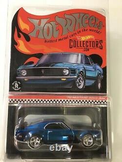 Hot Wheels Rlc Red Line Club 70 Mustang Boss 302