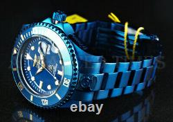 Invicta 47mm Grand Diver BLUE LABEL NH35A Automatic Mineral Crystal 300m Watch