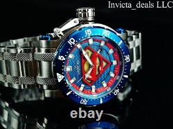 Invicta 52mm DC Comics Coalition Forces SUPERMAN AUTOMATIC Limited Edition Watch