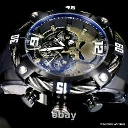 Invicta Marvel Punisher Bolt Black Chronograph Limited Edition Watch 50mm New