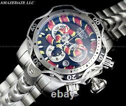 Invicta Men 52mm Reserve KING COBRA VENOM Swiss Chronograph Stainless St. Watch