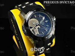 Invicta Men's 48mm Pro Diver Scuba MARVEL© PUNISHER Gunmetal/Black LMT ED Watch