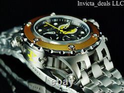 Invicta Men's 52mm DC Comics BATMAN Subaqua Swiss Chronograph BLACK DIAL Watch
