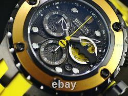 Invicta Mens 52mm SAS DC Comics BATMAN Ltd Ed. Swiss Chrono Black IP 500M Watch