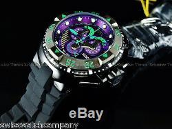 Invicta Reserve Parakeet Indigo Purple Master Calendar 5040F Swiss Made Watch