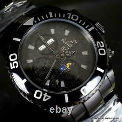 Invicta Reserve Pro Diver Swiss Made 7751 Valjoux Automatic Meteorite Watch New