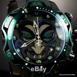 Invicta Reserve Venom DC Comics Joker Black Green 52mm Swiss Mvt Watch New