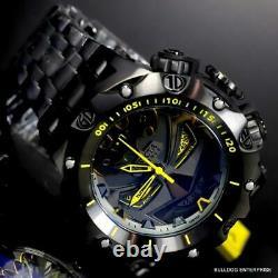 Invicta Reserve Venom Hybrid DC Comics Batman Black Steel Swiss Watch 52mm New