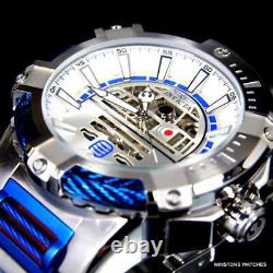 Invicta Star Wars Bolt R2D2 Stainless Steel NH70 Automatic Limited Ed Watch New
