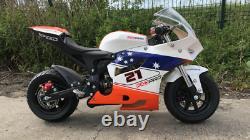 KXD Mini Moto Pro Bike 50 cc 2 Stroke Limited Edition