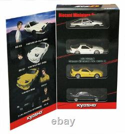 Kyosho Exclusive Initial D New Movie Version Model Car Set 1/64 Limited Edition