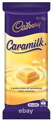 LIMITED EDITION Cadbury Caramilk Block 180g Australian Import UK Seller Gift