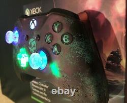 Limited Edition Sea of Thieves Game Microsoft Xbox One Controller Rare LED MOD